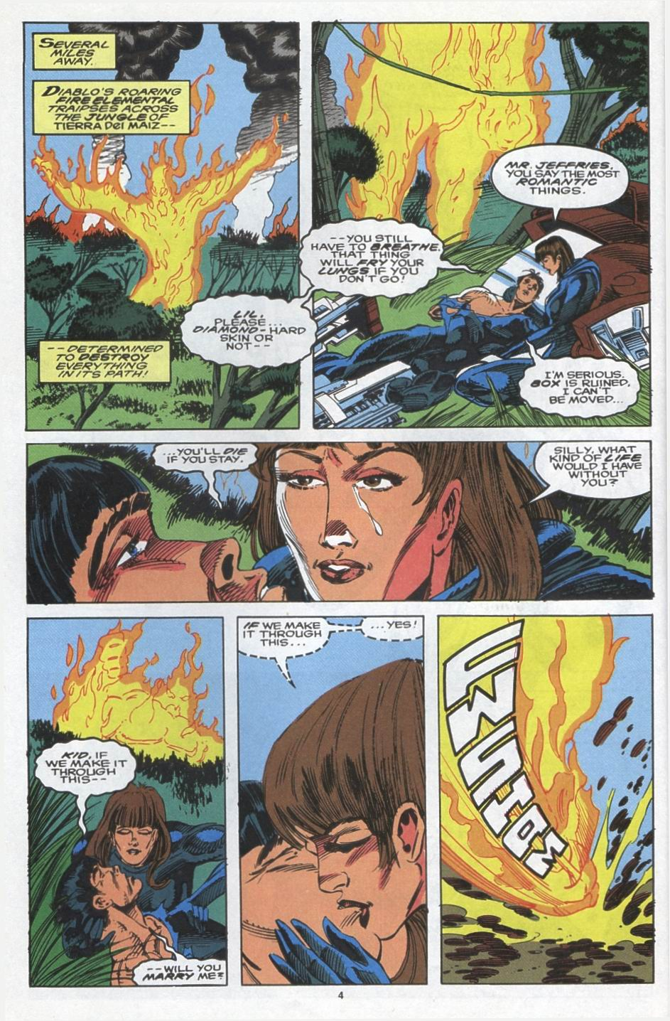 Read online Alpha Flight (1983) comic -  Issue #103 - 5