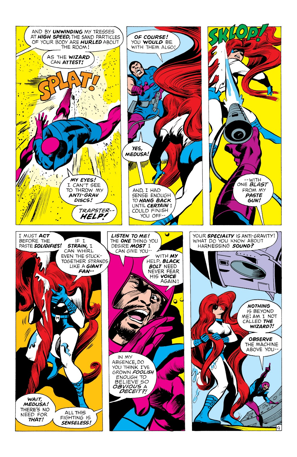 Read online Marvel Masterworks: The Inhumans comic -  Issue # TPB 1 (Part 1) - 52