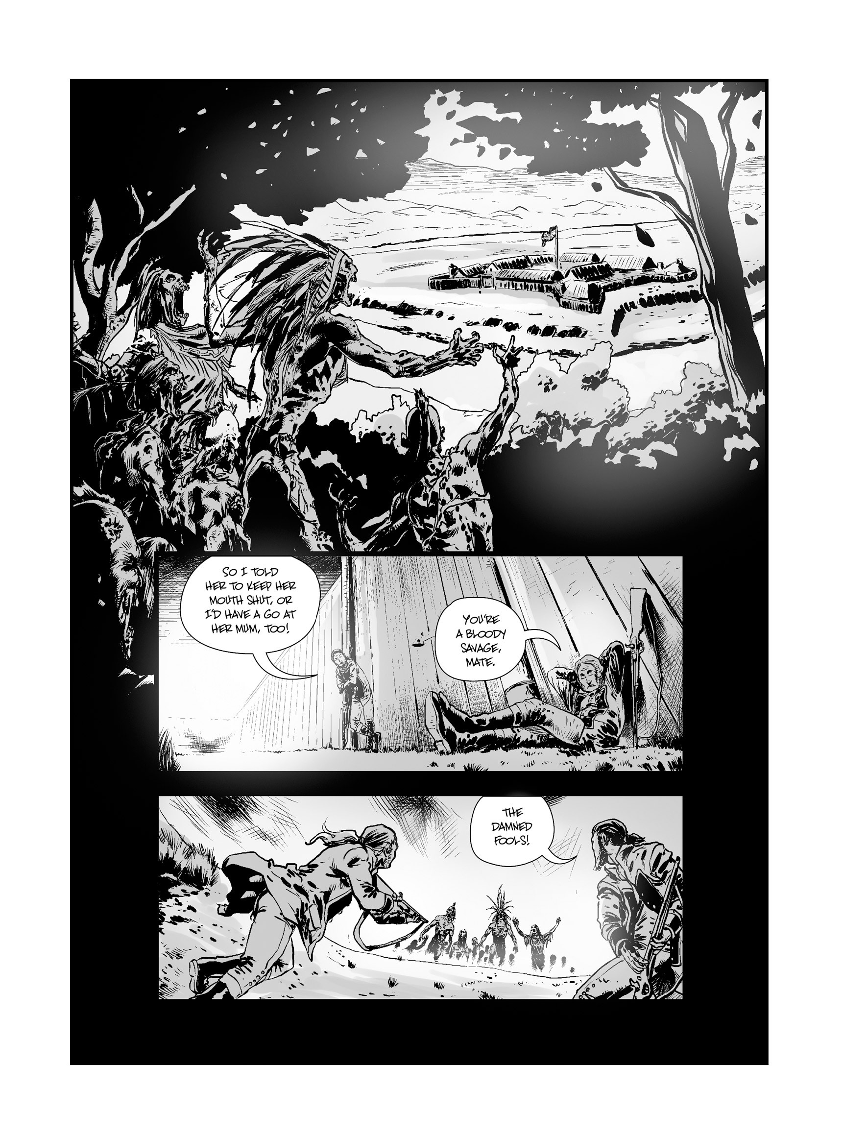 Read online FUBAR comic -  Issue #3 - 39