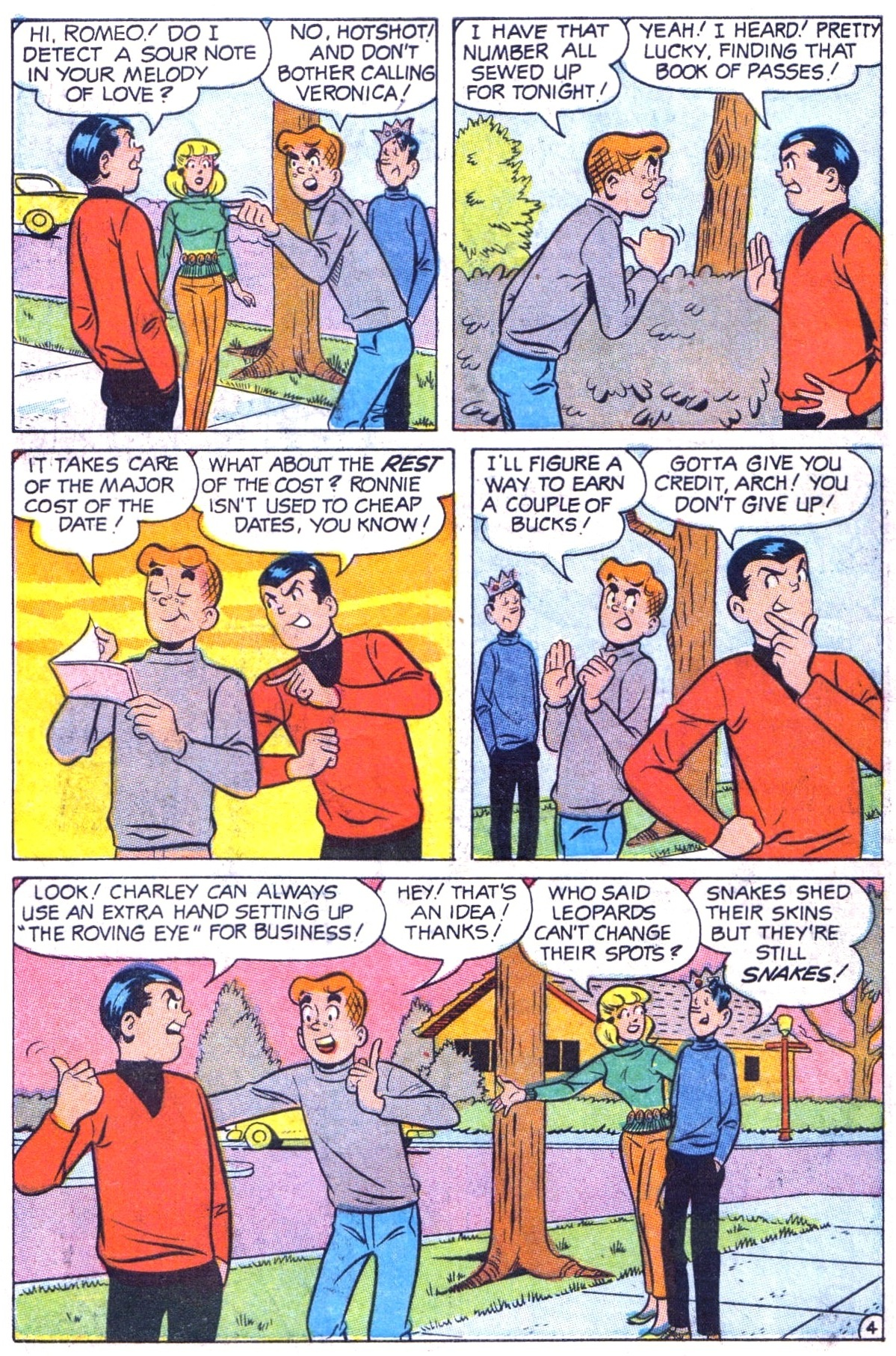 Read online Archie (1960) comic -  Issue #182 - 6