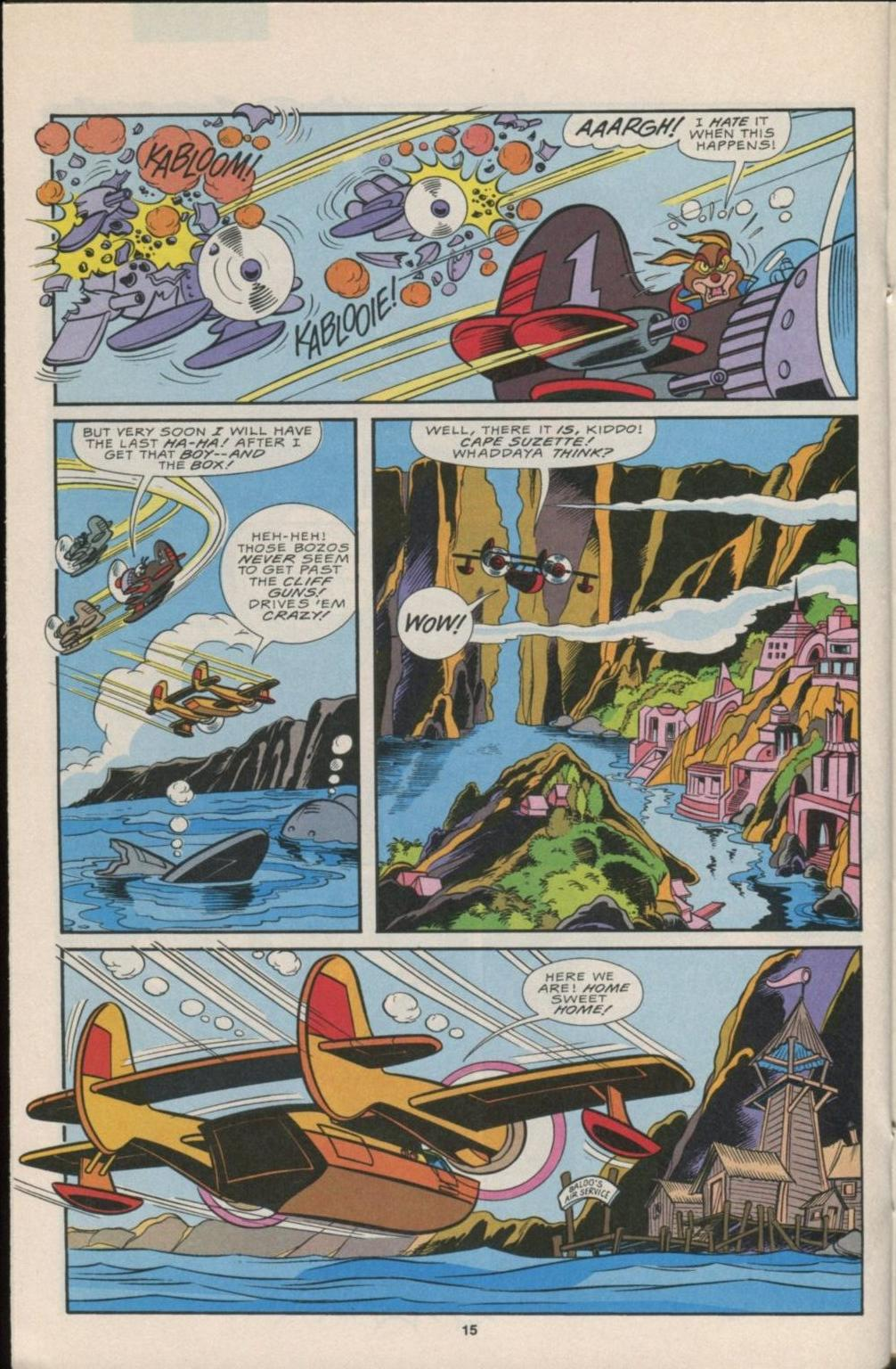 Read online Disney's Tale Spin Limited Series: ''Take Off'' comic -  Issue #1 - 16