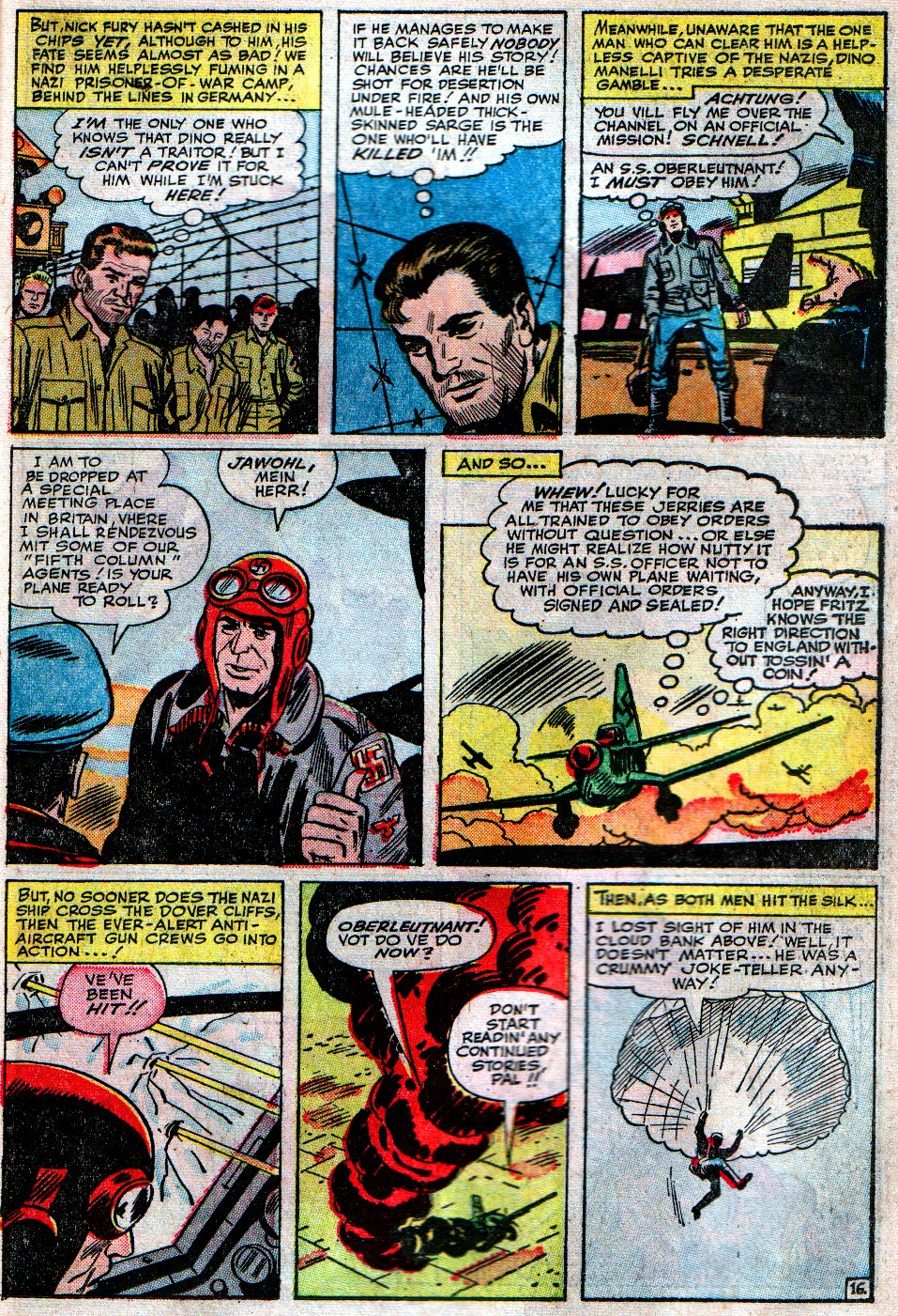 Read online Sgt. Fury comic -  Issue #12 - 23