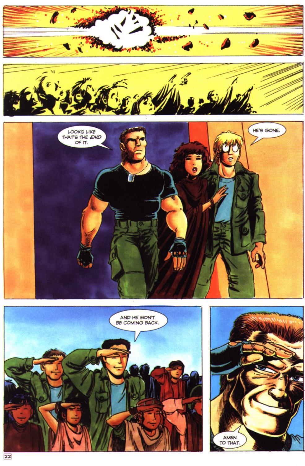 Read online Stargate comic -  Issue #4 - 24