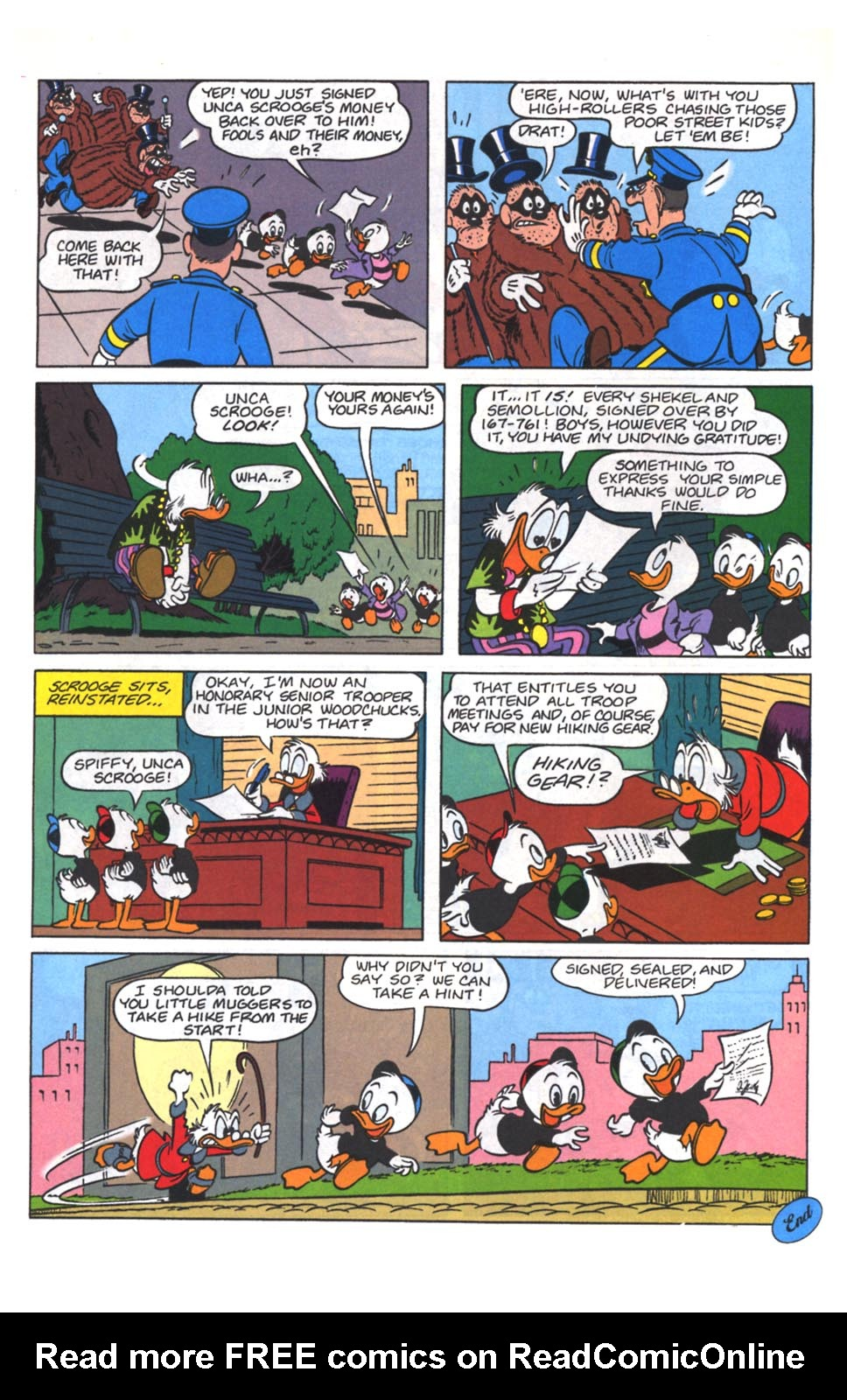Read online Uncle Scrooge (1953) comic -  Issue #264 - 10