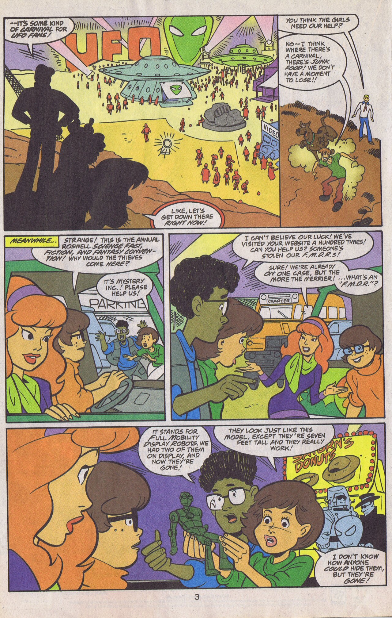 Read online Scooby-Doo (1997) comic -  Issue #26 - 28