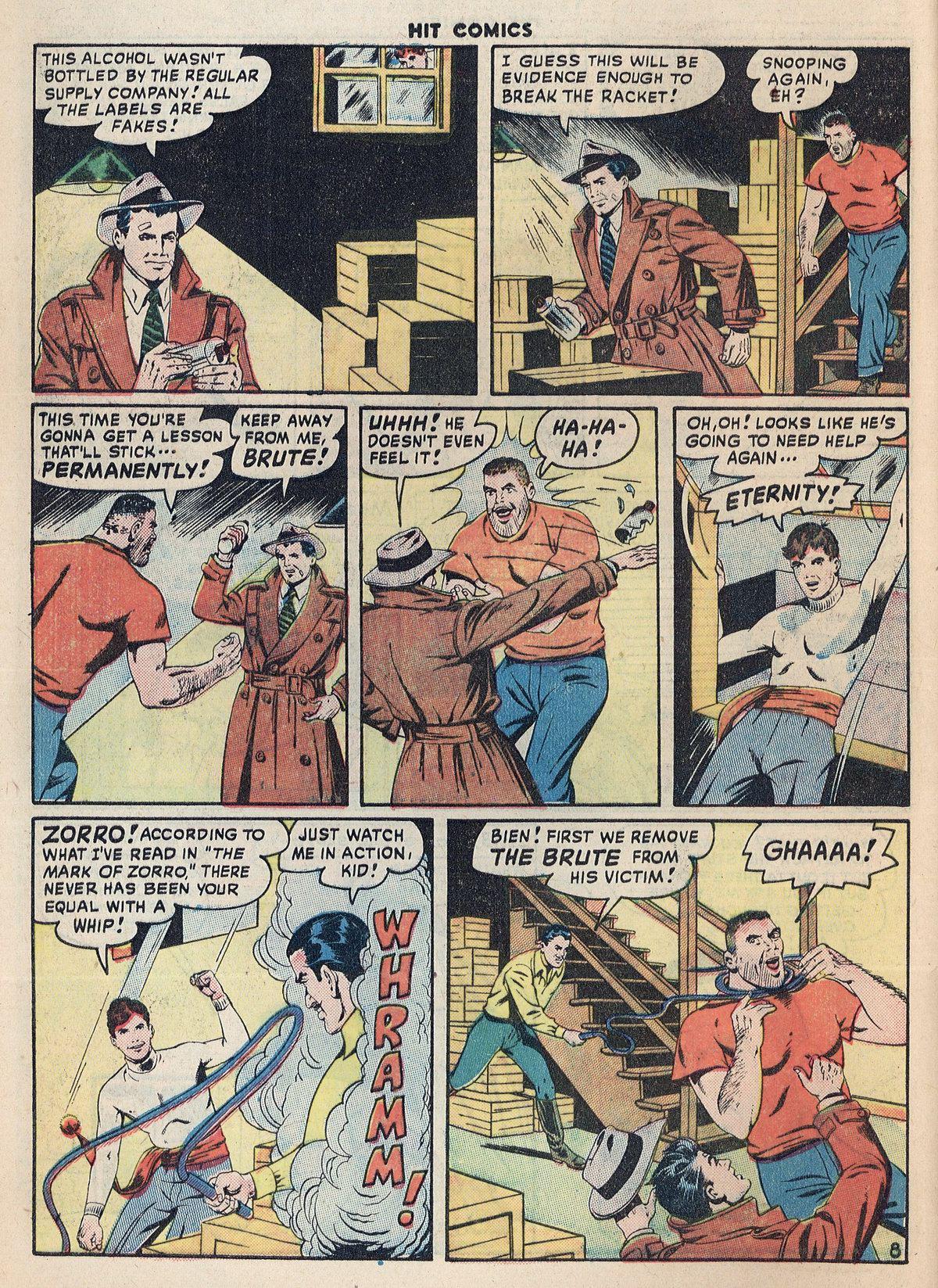 Read online Hit Comics comic -  Issue #55 - 10