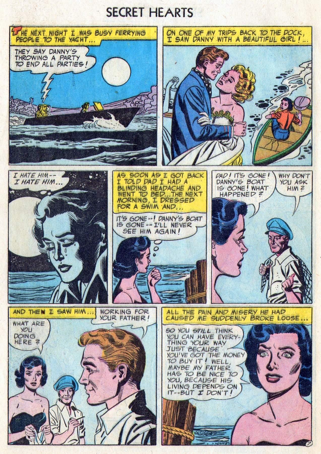 Read online Secret Hearts comic -  Issue #28 - 32