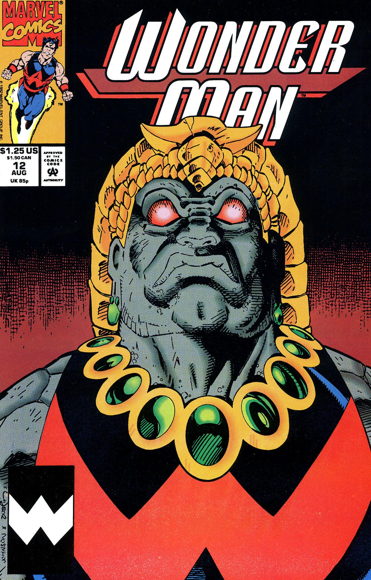 Read online Wonder Man (1991) comic -  Issue #12 - 1
