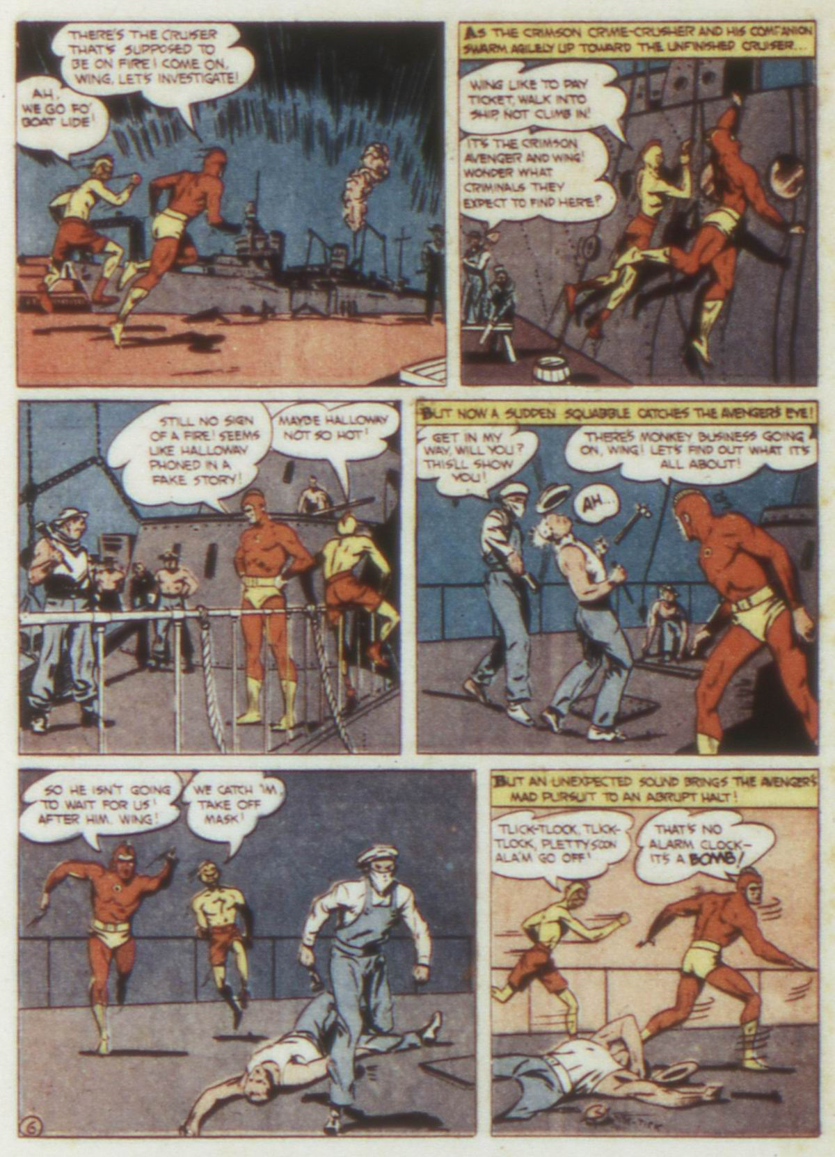 Read online Detective Comics (1937) comic -  Issue #74 - 36
