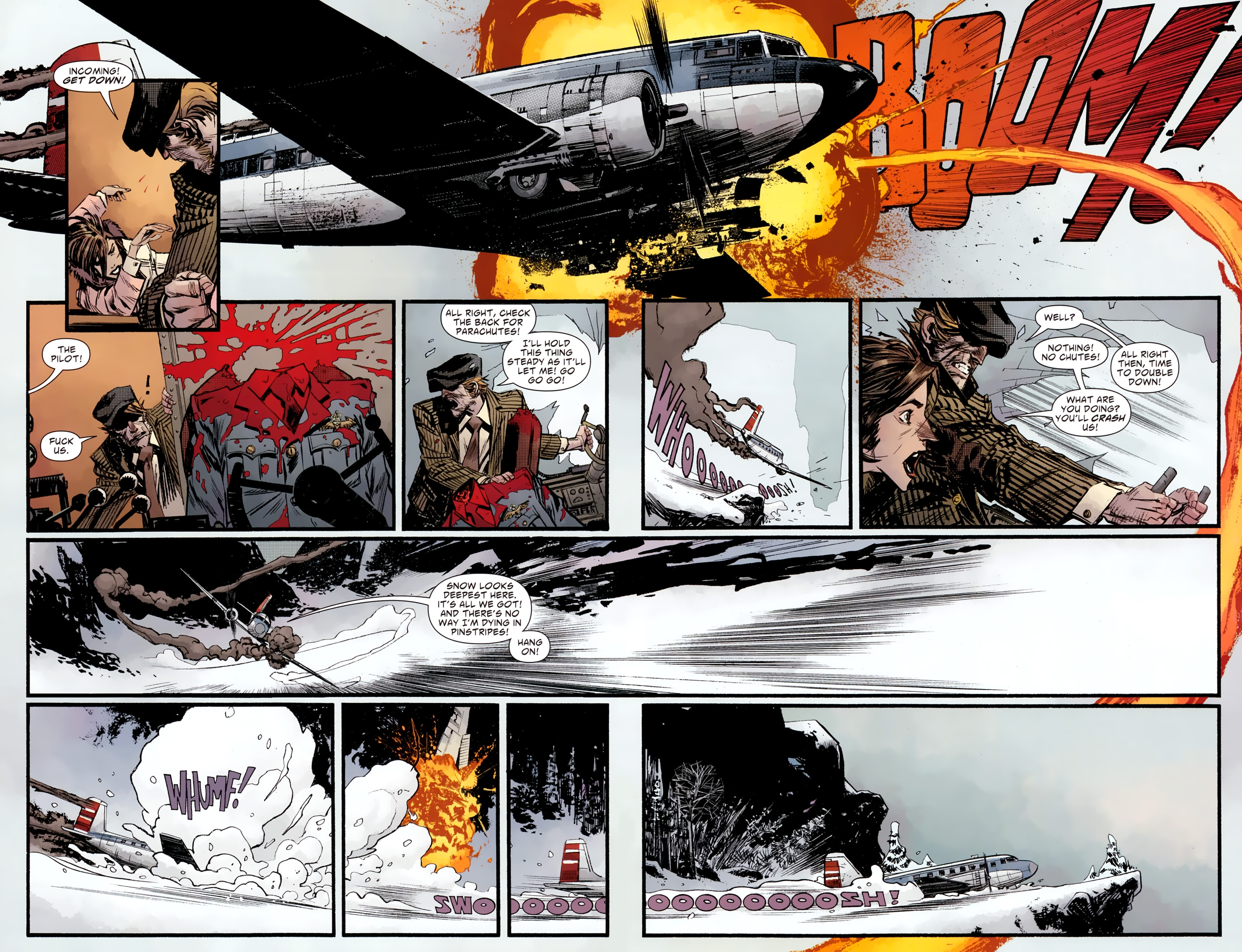 Read online American Vampire: Survival of the Fittest comic -  Issue #2 - 9