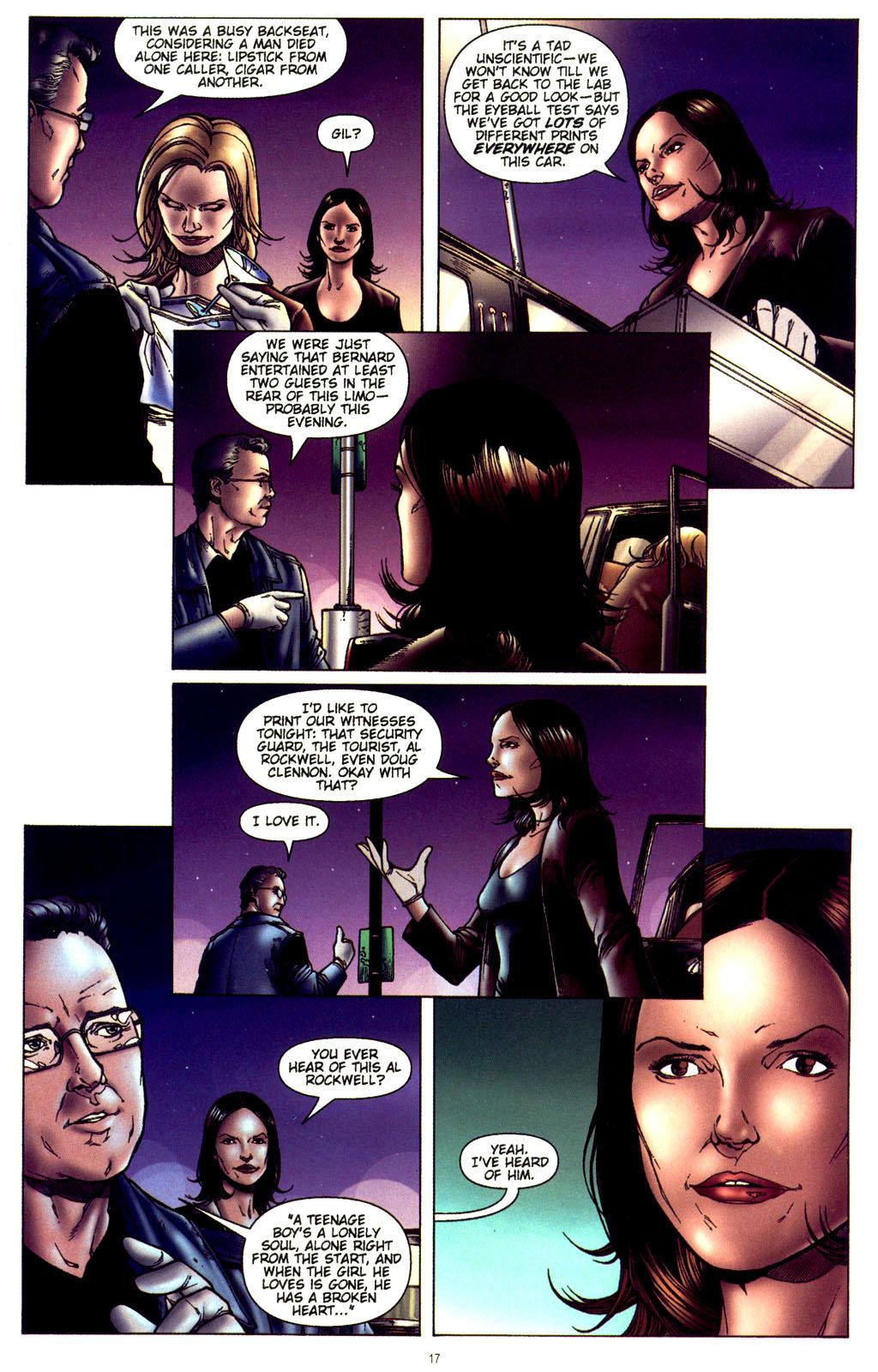 Read online CSI: Crime Scene Investigation: Bad Rap comic -  Issue #2 - 18