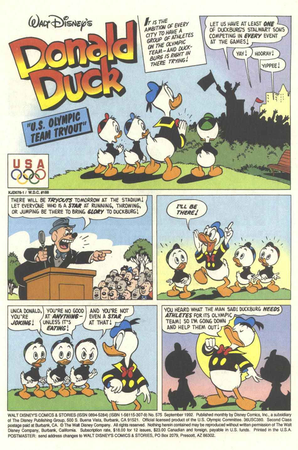 Walt Disney's Comics and Stories issue 575 - Page 2