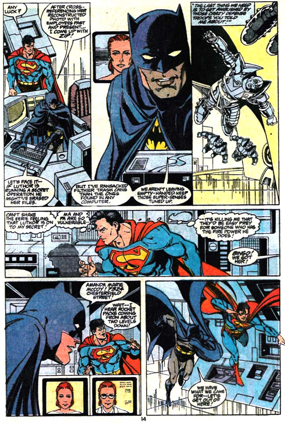 Read online Adventures of Superman (1987) comic -  Issue #467 - 16
