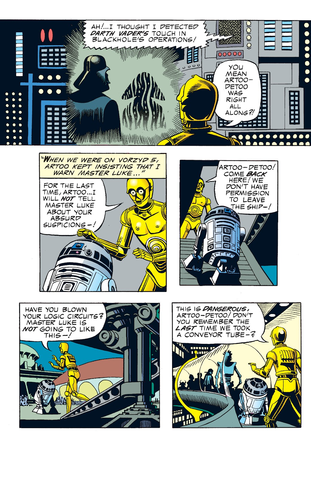 Read online Star Wars Legends: The Newspaper Strips - Epic Collection comic -  Issue # TPB (Part 1) - 78