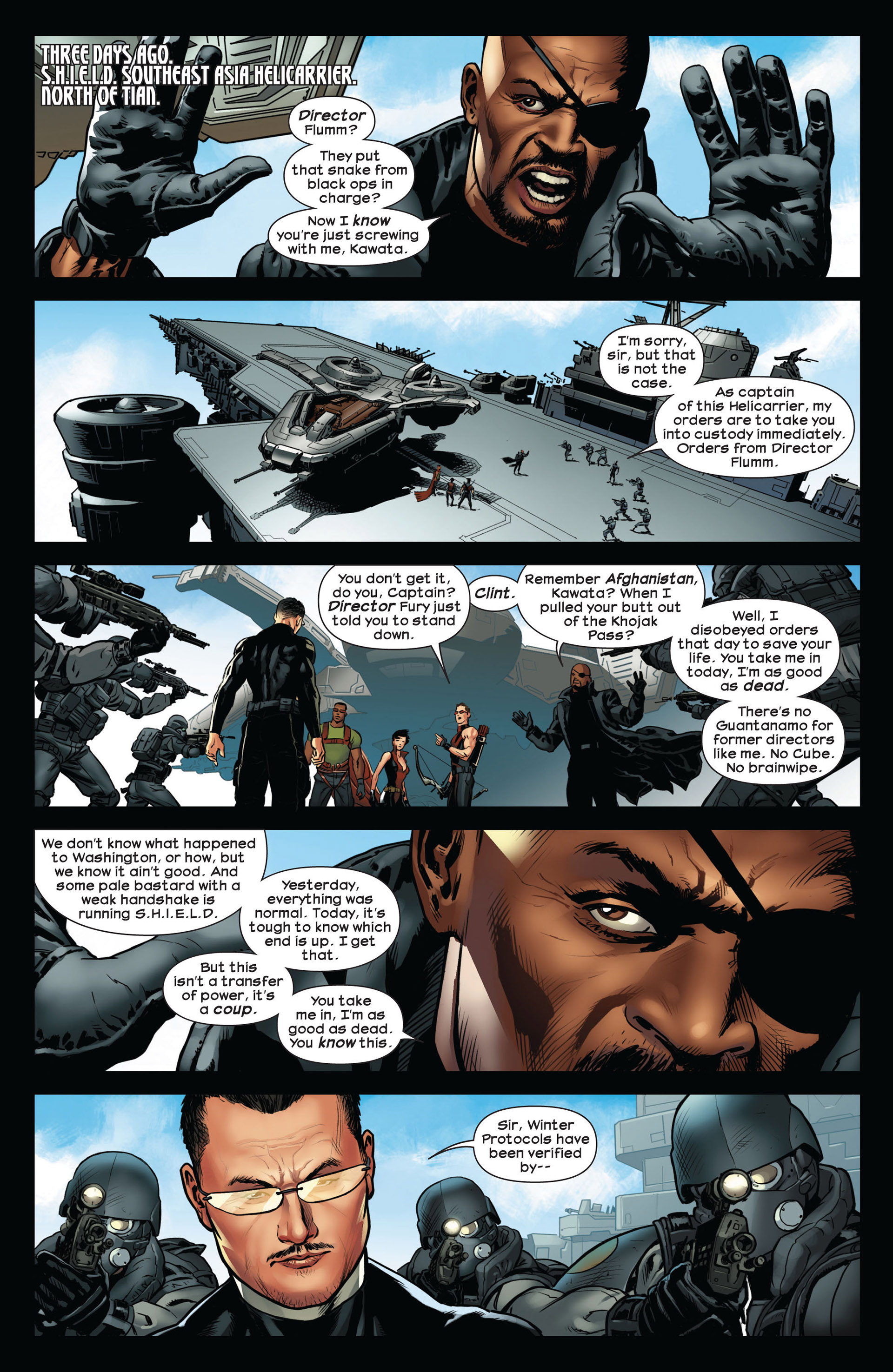 Read online Ultimate Comics Ultimates comic -  Issue #10 - 10