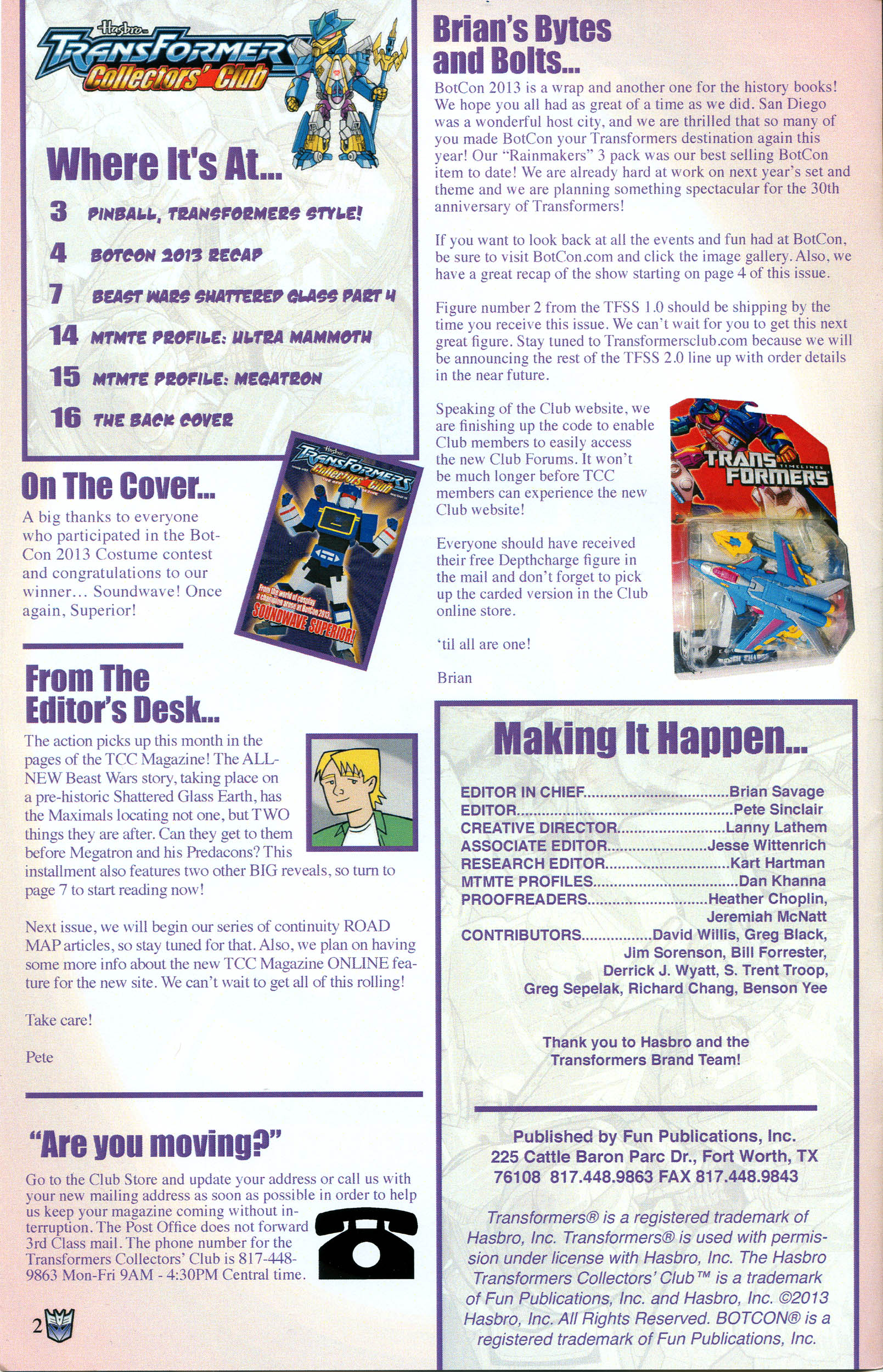 Read online Transformers: Collectors' Club comic -  Issue #52 - 2