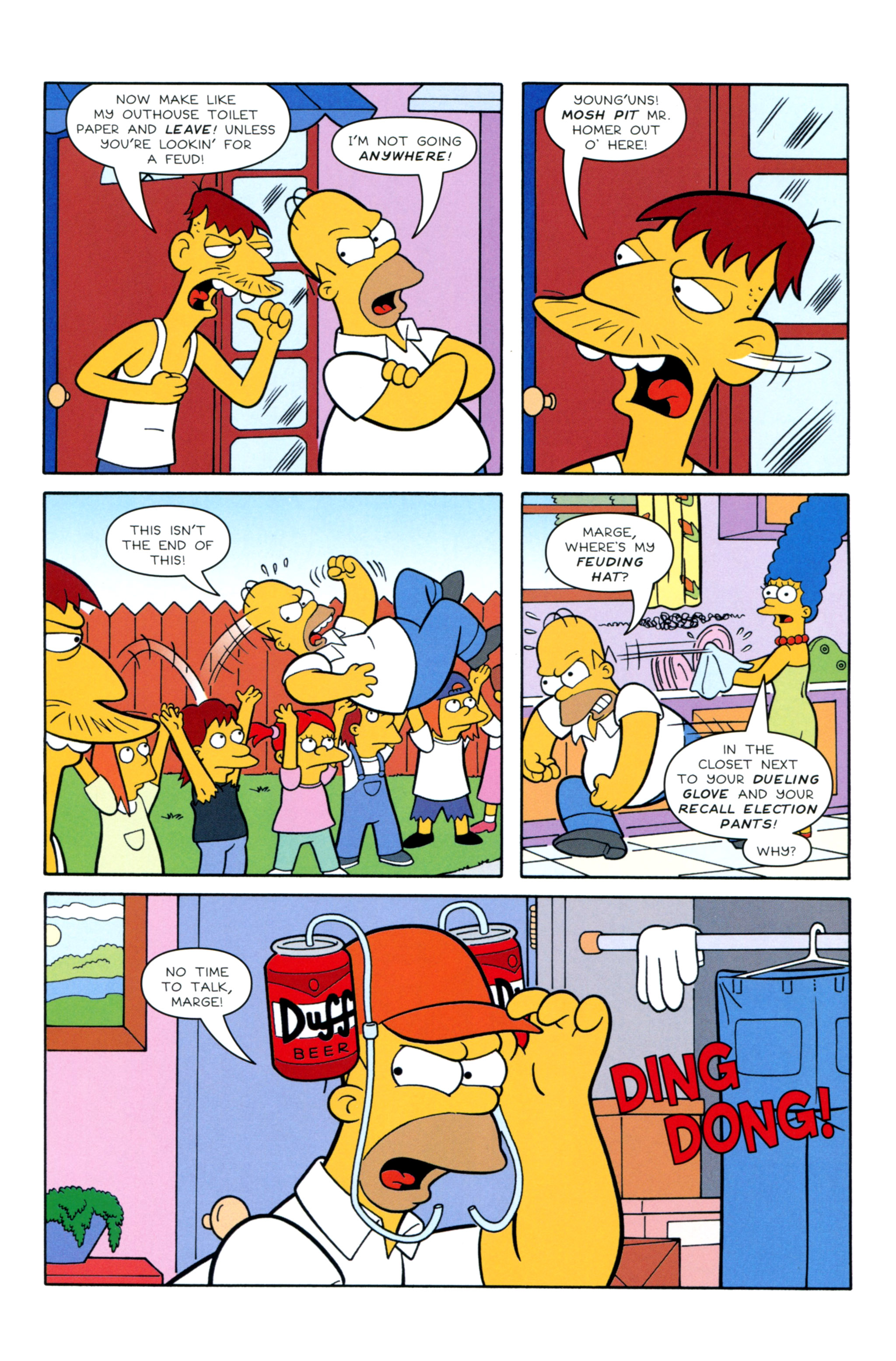 Read online Simpsons Illustrated (2012) comic -  Issue #12 - 16
