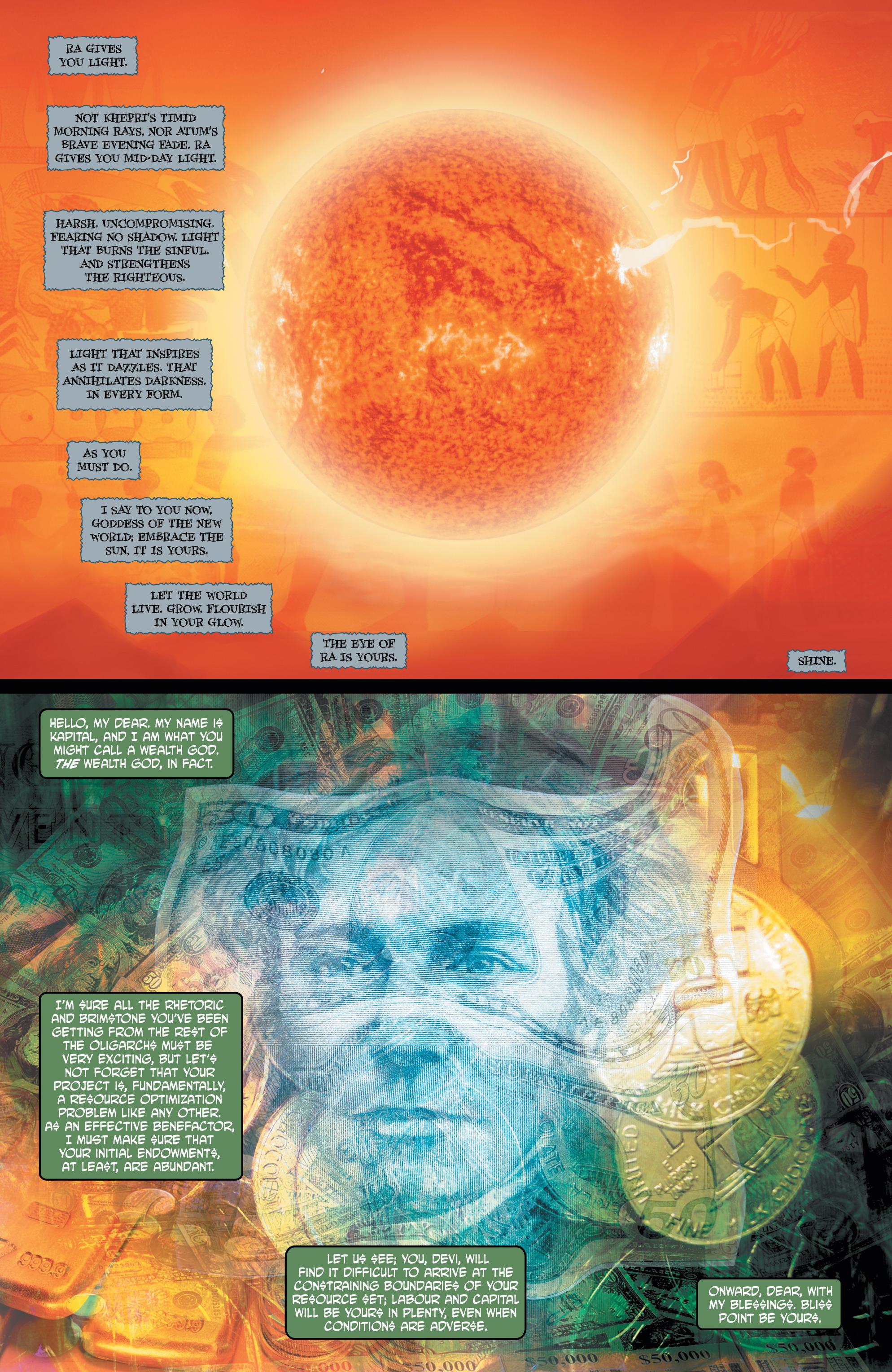 Read online Shekhar Kapur's Devi: Rebirth comic -  Issue #5 - 9