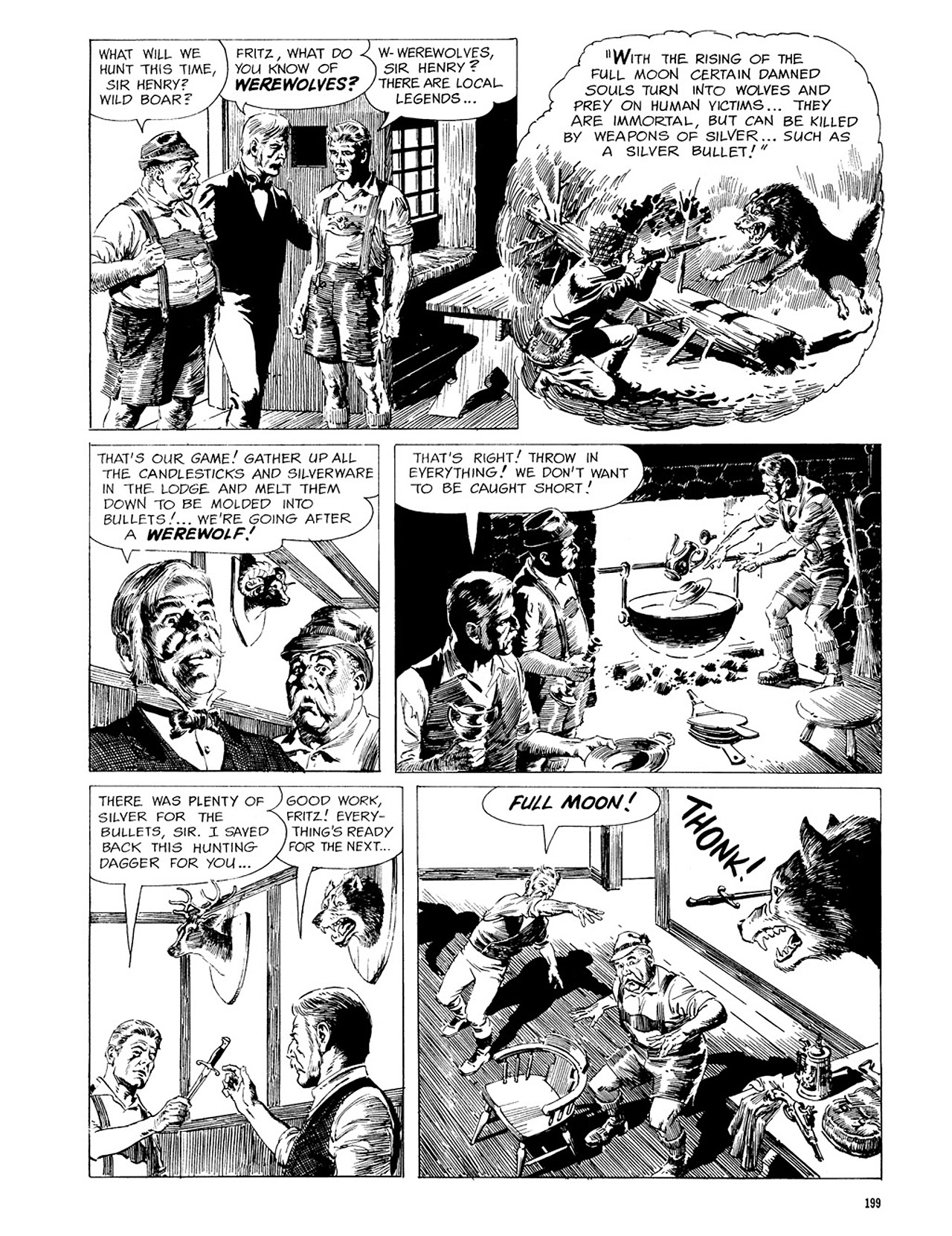 Read online Eerie Archives comic -  Issue # TPB 3 - 200