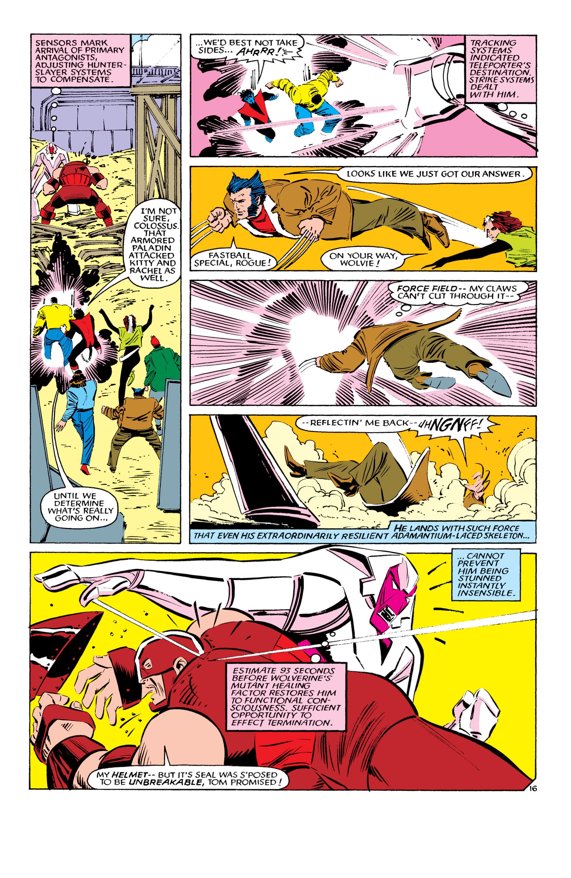 Read online Uncanny X-Men (1963) comic -  Issue #194 - 17