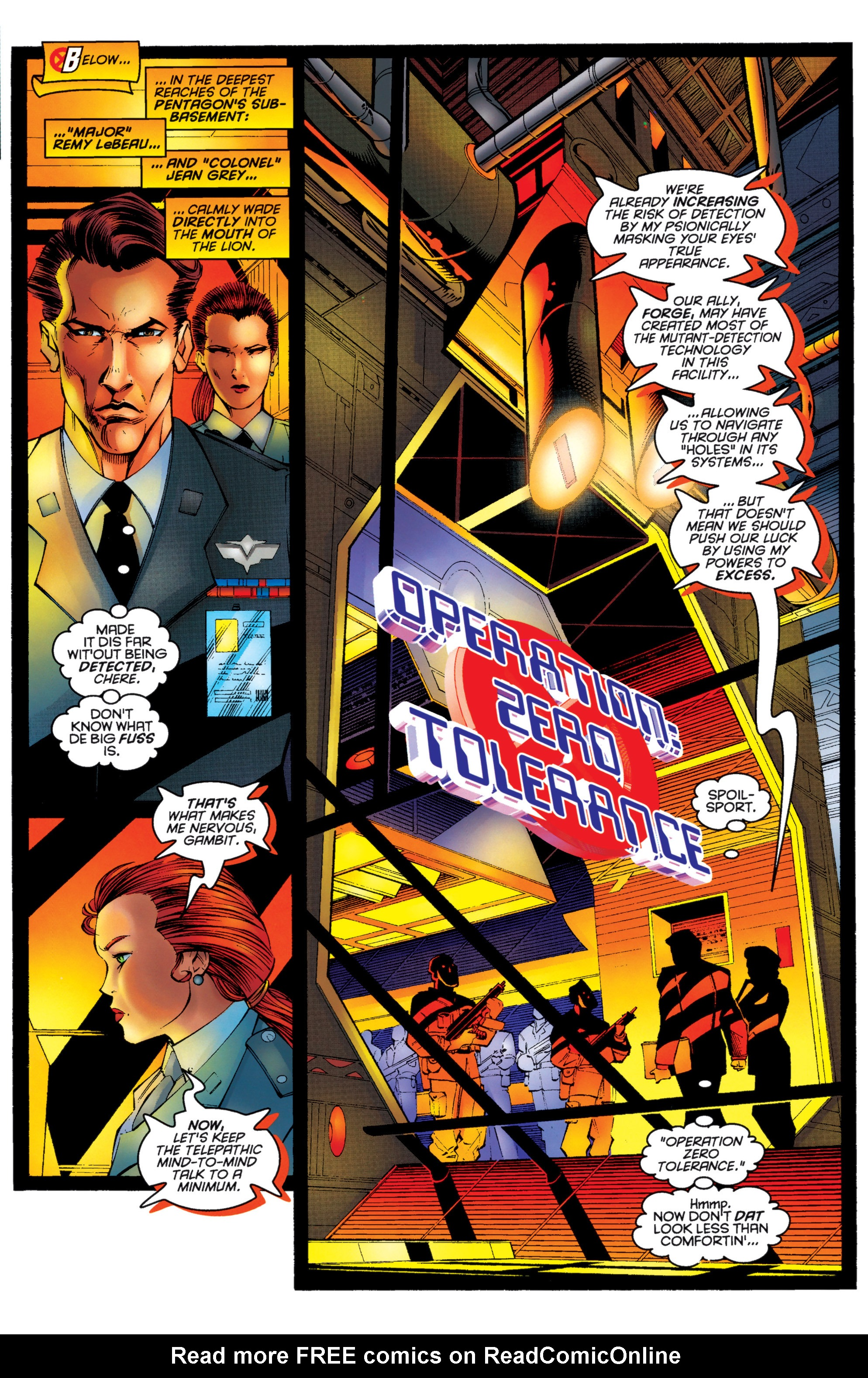 Read online Uncanny X-Men (1963) comic -  Issue #333 - 6