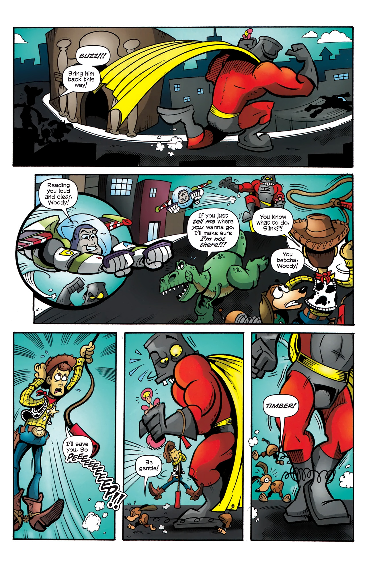 Read online Toy Story (2009) comic -  Issue #4 - 7