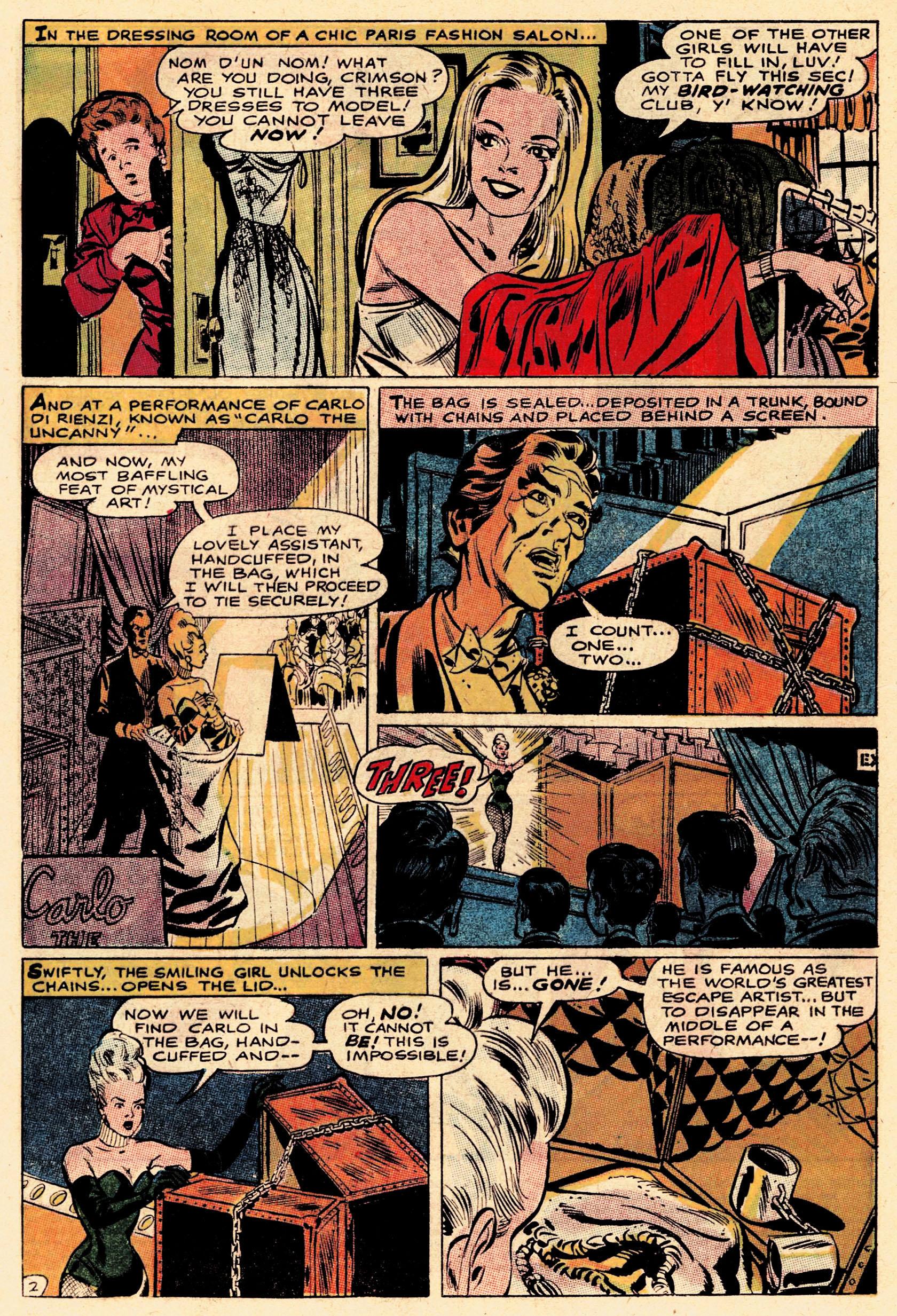 Read online Secret Six (1968) comic -  Issue #1 - 4