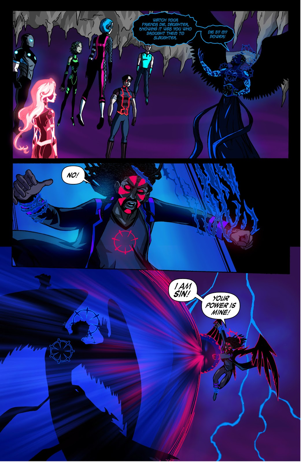 Sentinels issue 3 - Page 16