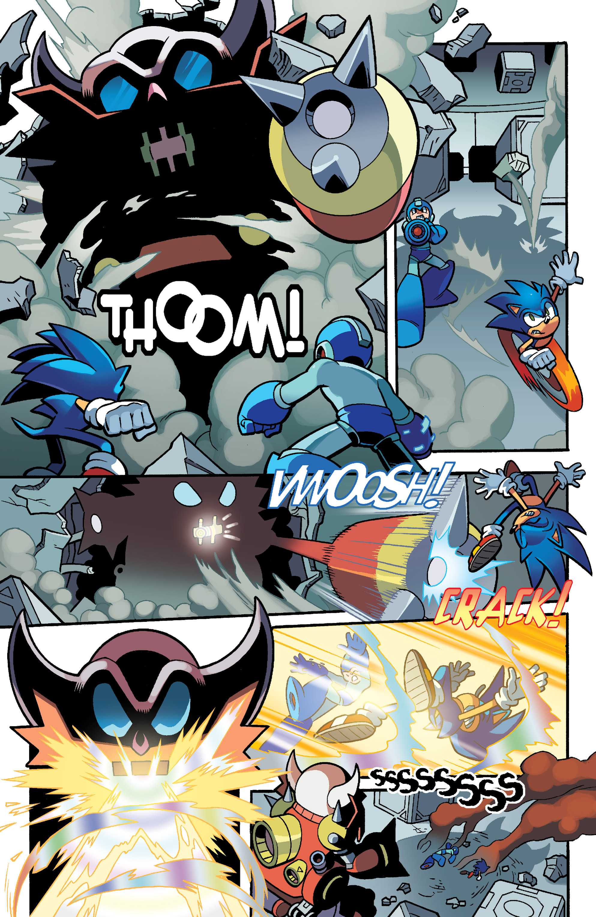 Read online Sonic Mega Man Worlds Collide comic -  Issue # Vol 3 - 88