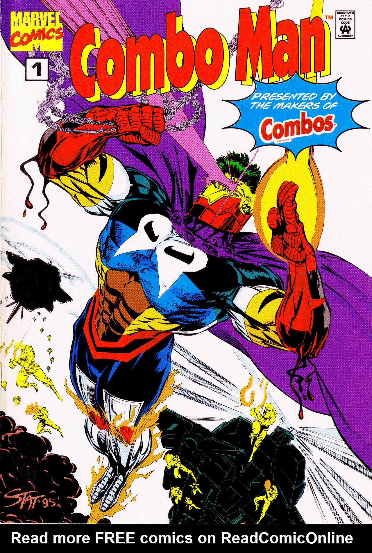 Read online Combo Man comic -  Issue # Full - 1