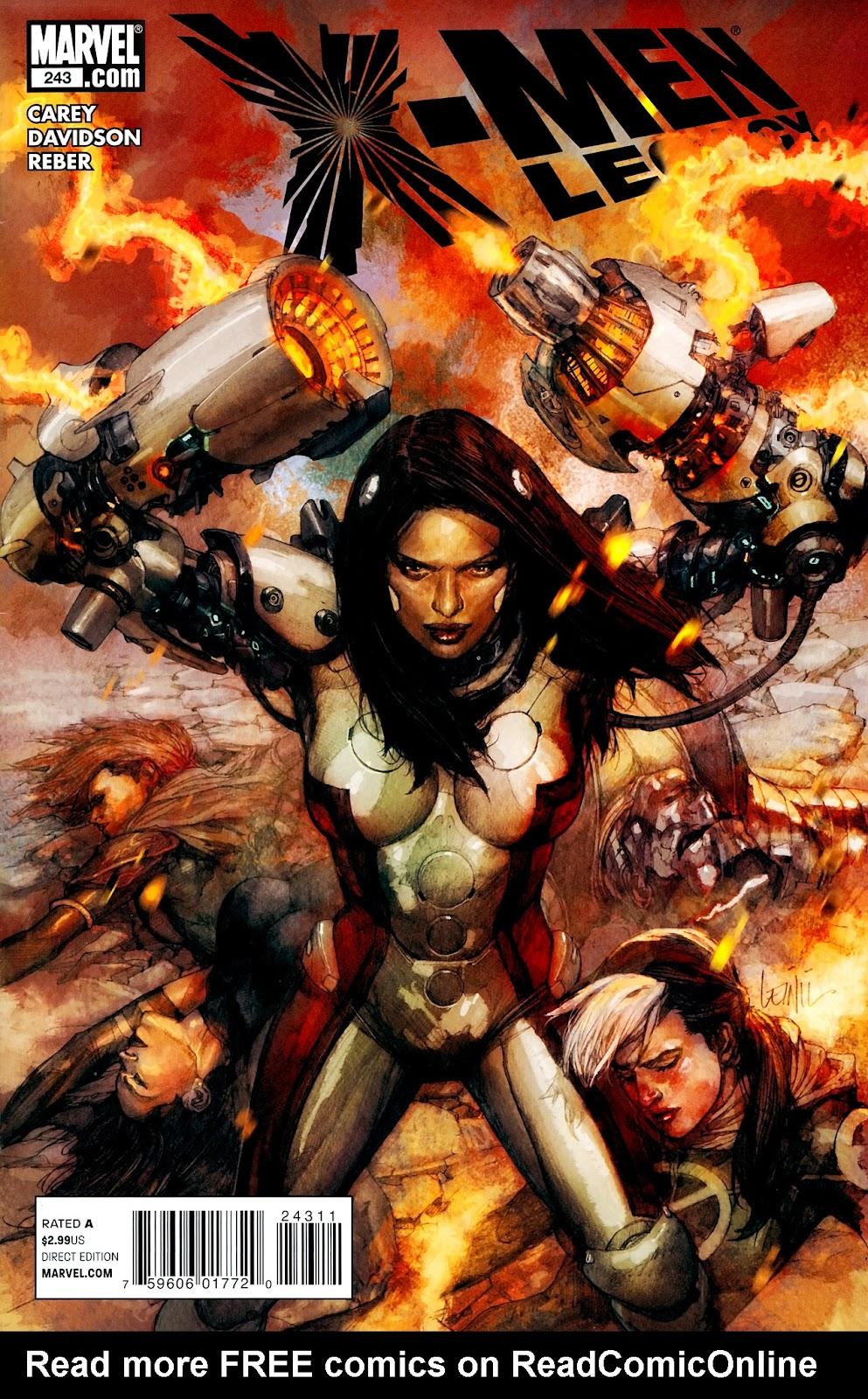 X-Men Legacy (2008) 243 Page 1