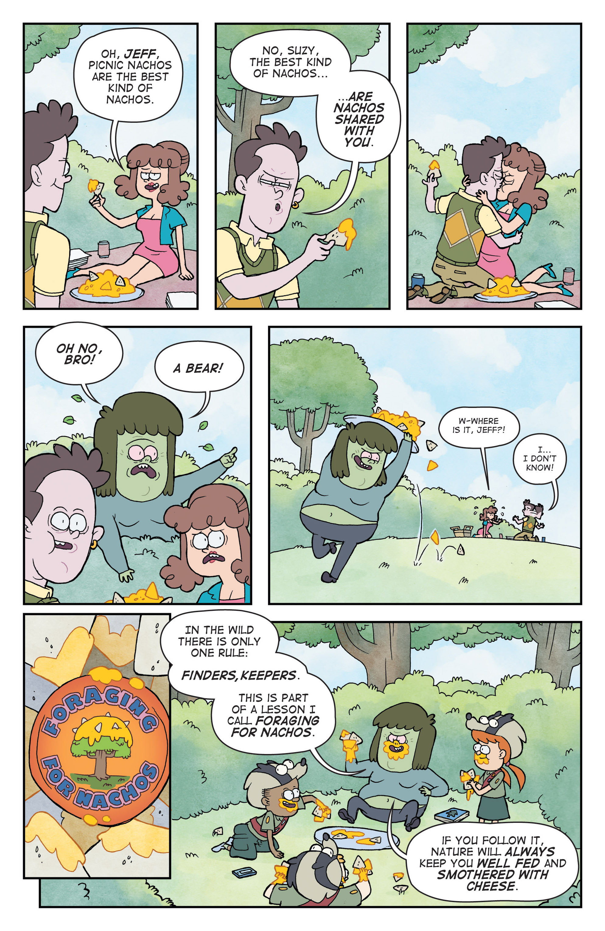 Read online Regular Show comic -  Issue # _Annual 1 - 27