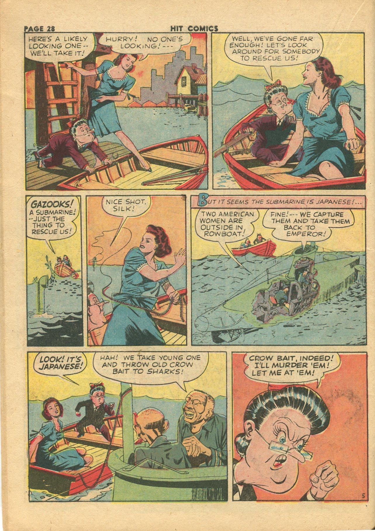 Read online Hit Comics comic -  Issue #28 - 31