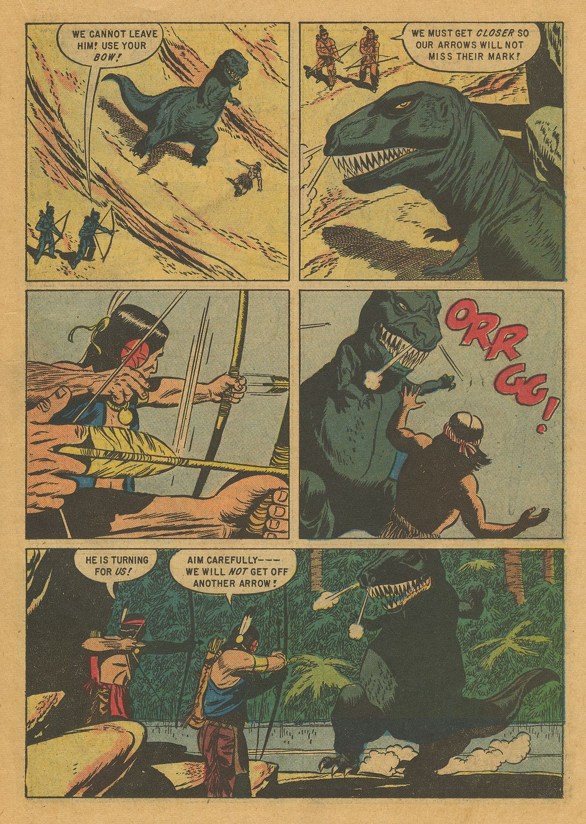 Read online Turok, Son of Stone comic -  Issue #10 - 19