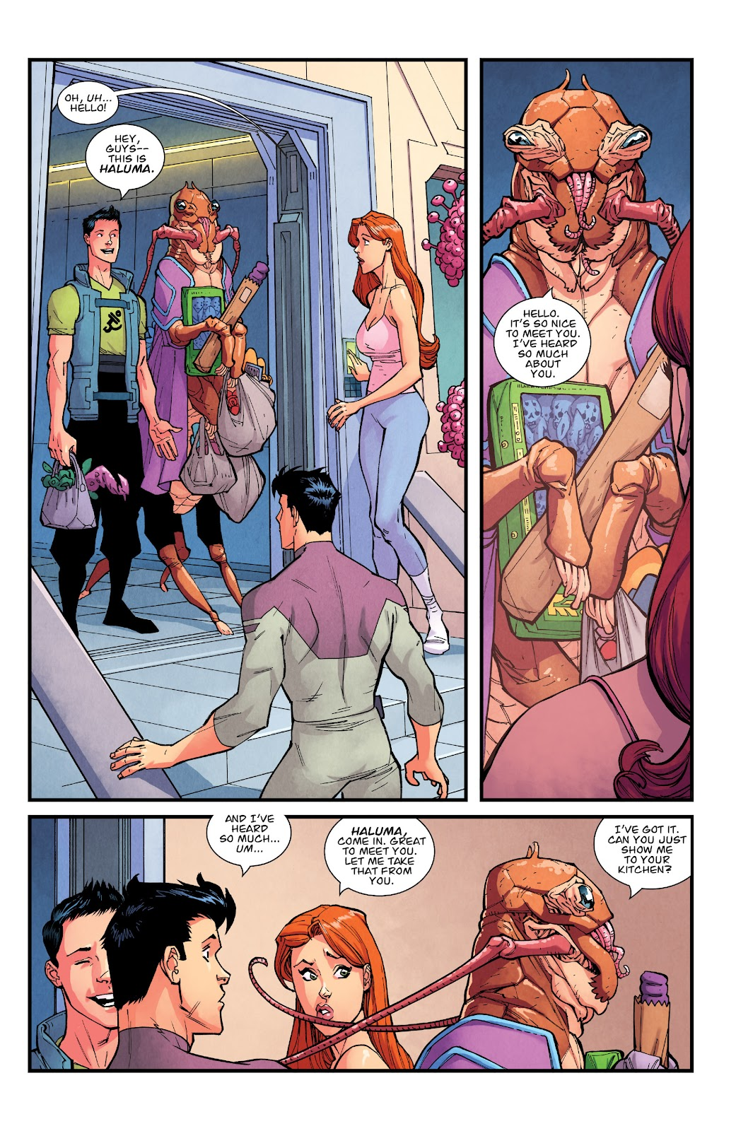 Invincible (2003) issue TPB 21 - Modern Family - Page 74