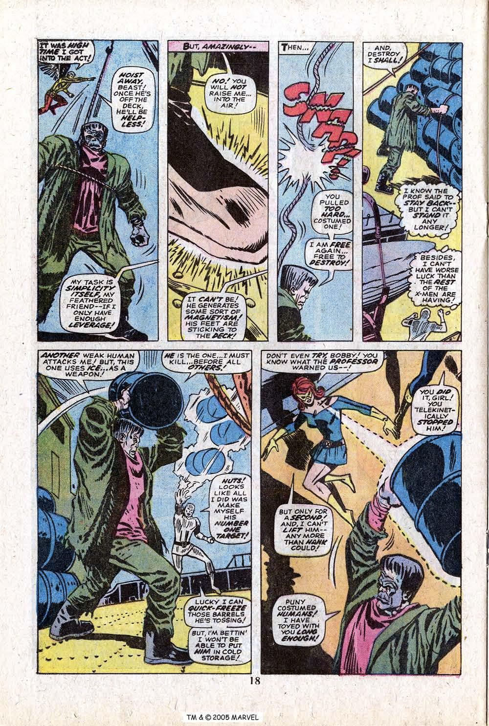 Uncanny X-Men (1963) 88 Page 19