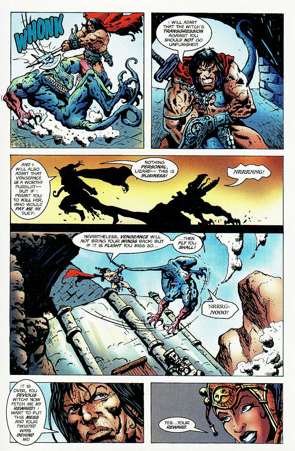 Read online Conan: Return of Styrm comic -  Issue #3 - 22