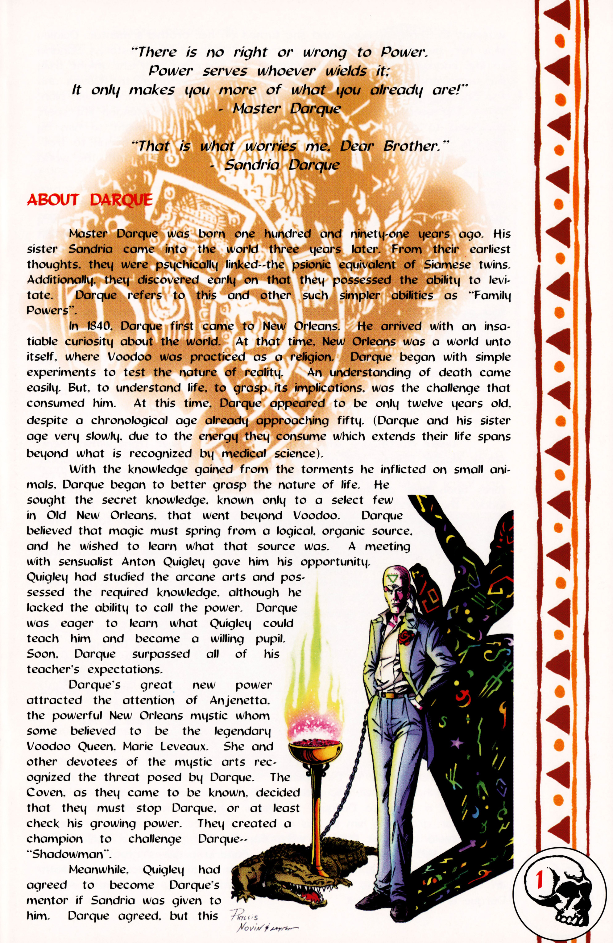 Read online Darque Passages comic -  Issue # Full - 3