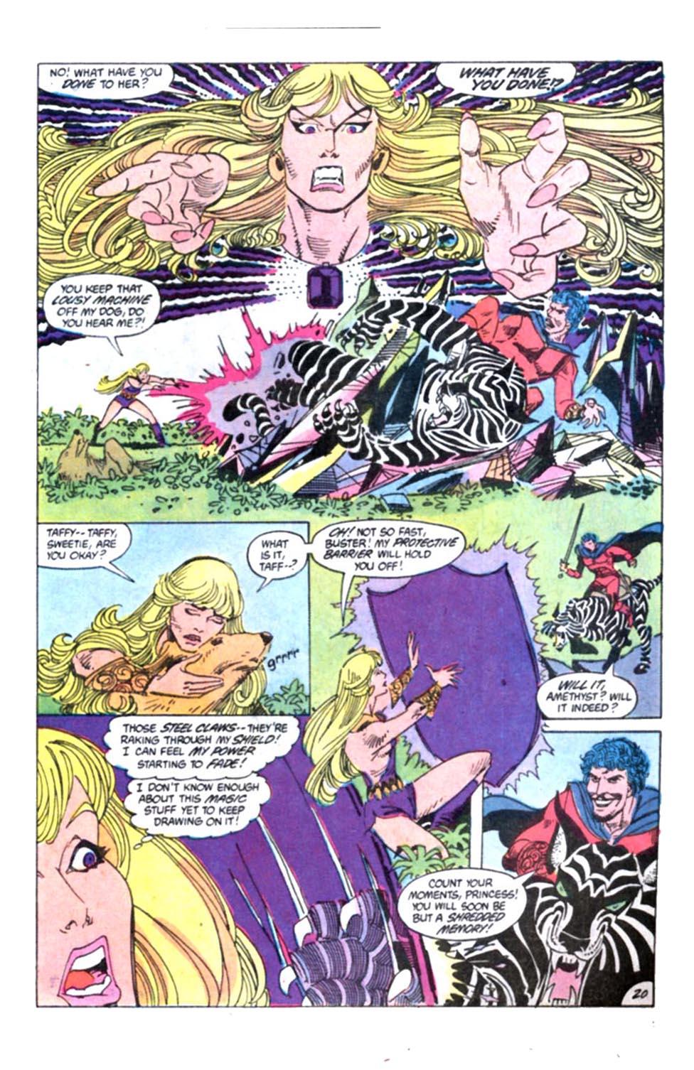 Read online Amethyst, Princess of Gemworld comic -  Issue #2 - 21