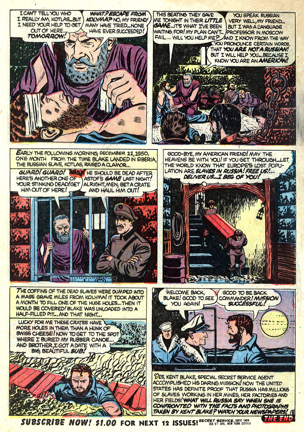 Kent Blake of the Secret Service issue 1 - Page 16