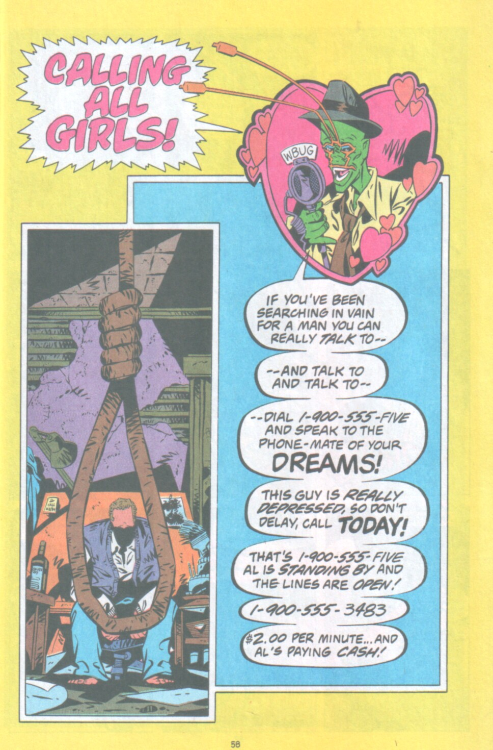 Read online Ambush Bug Nothing Special comic -  Issue # Full - 51