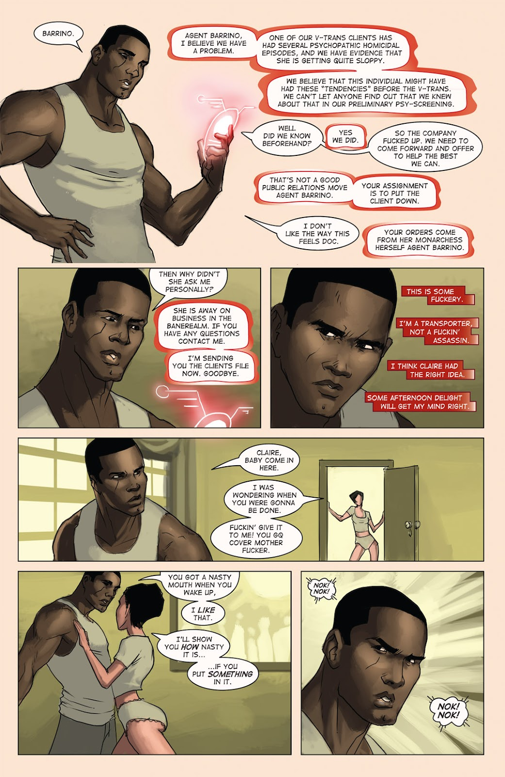 Read online Vescell comic -  Issue #4 - 24