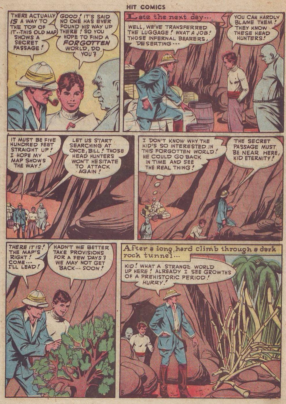 Read online Hit Comics comic -  Issue #51 - 7