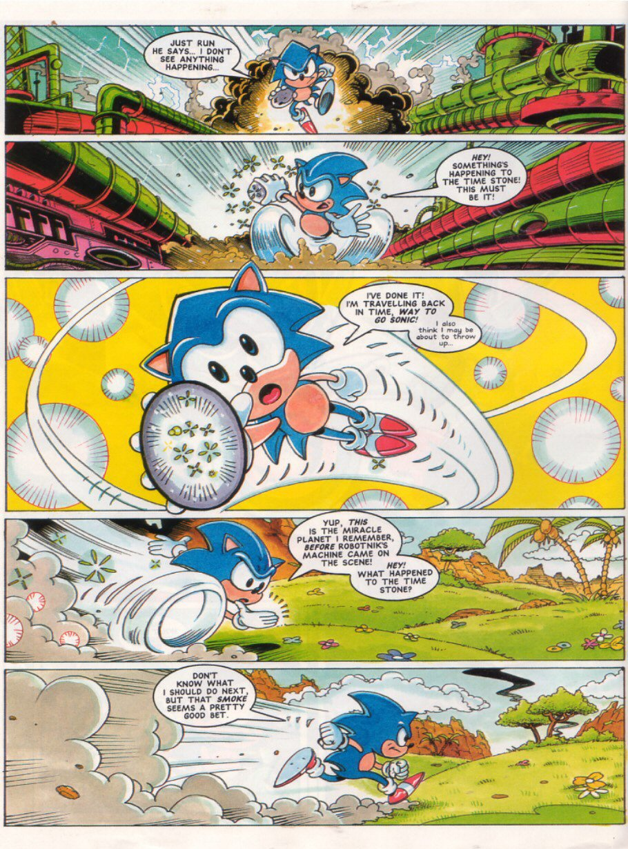 Read online Sonic the Comic comic -  Issue #28 - 4