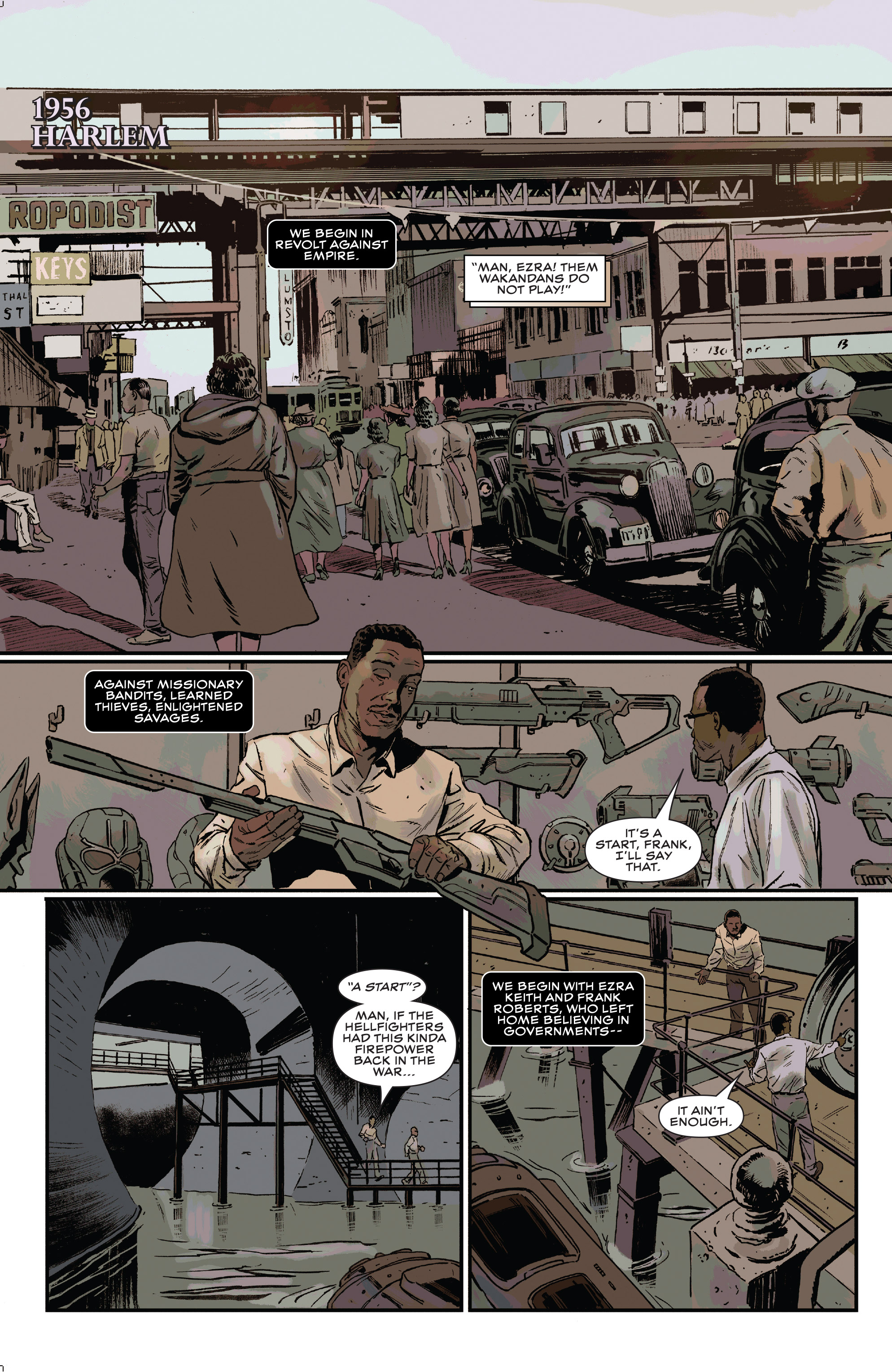 Read online Black Panther and the Crew comic -  Issue #3 - 4