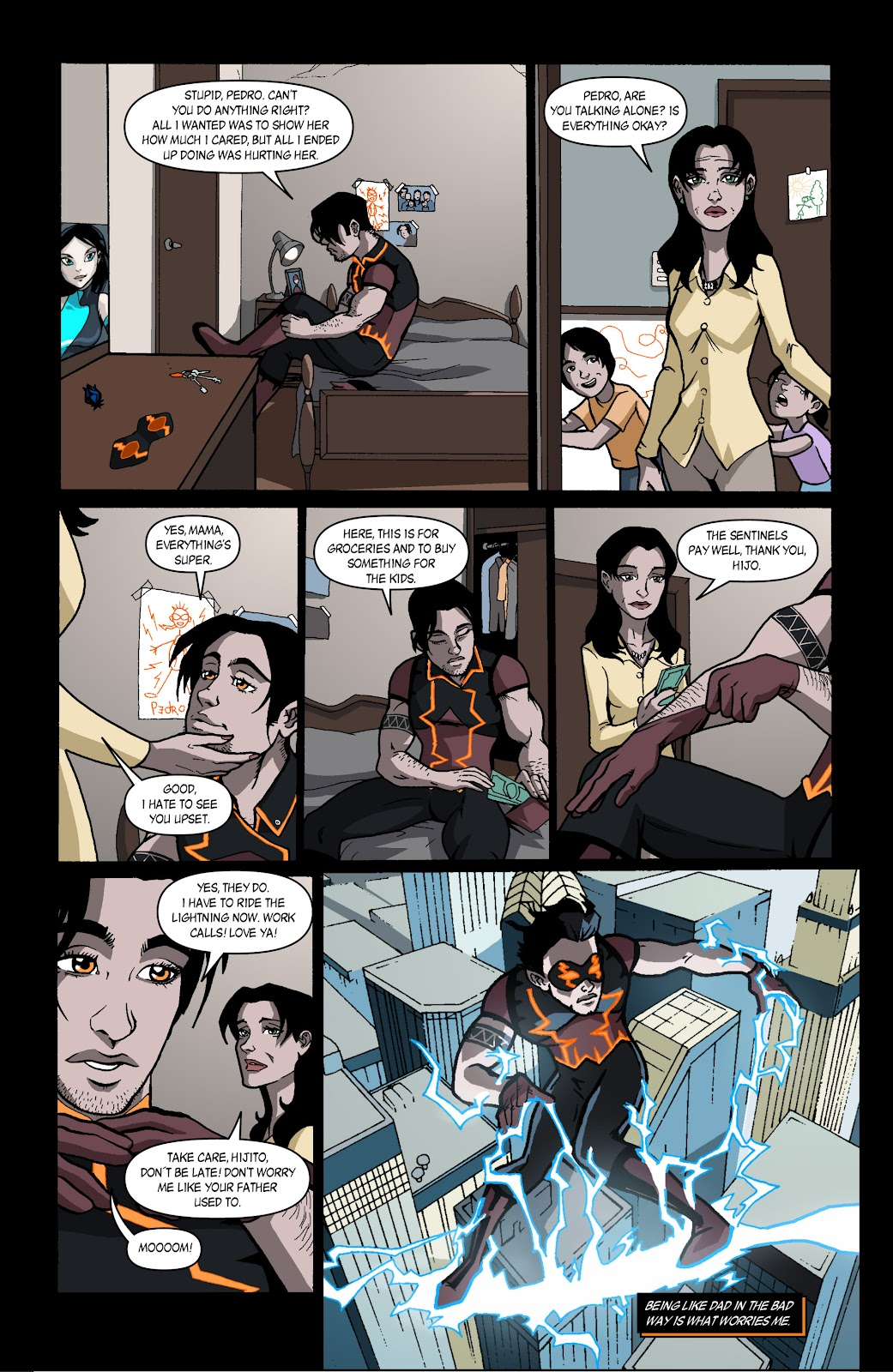 Sentinels issue 4 - Page 18