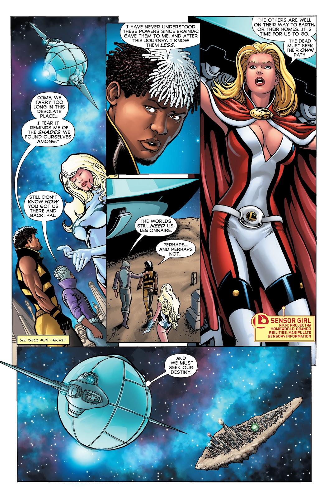Legion of Super-Heroes (2011) Issue #23 #24 - English 4