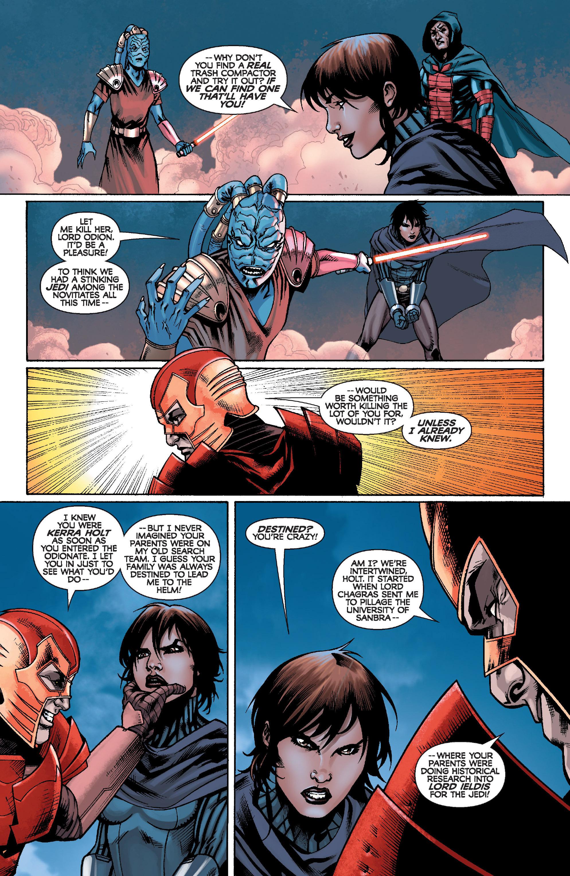 Read online Star Wars: Knight Errant - Escape comic -  Issue #4 - 5