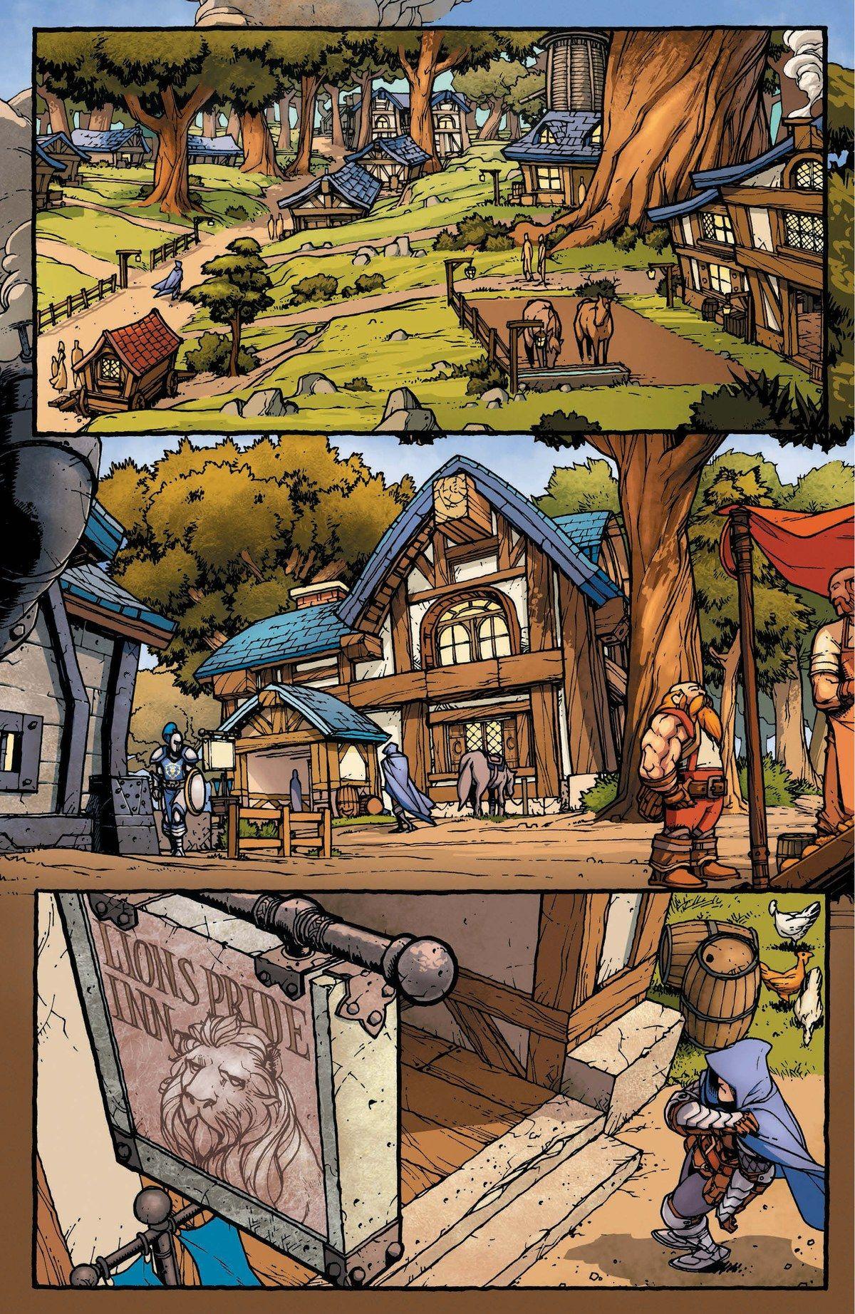 Read online World of Warcraft: Dark Riders comic -  Issue # Full - 5