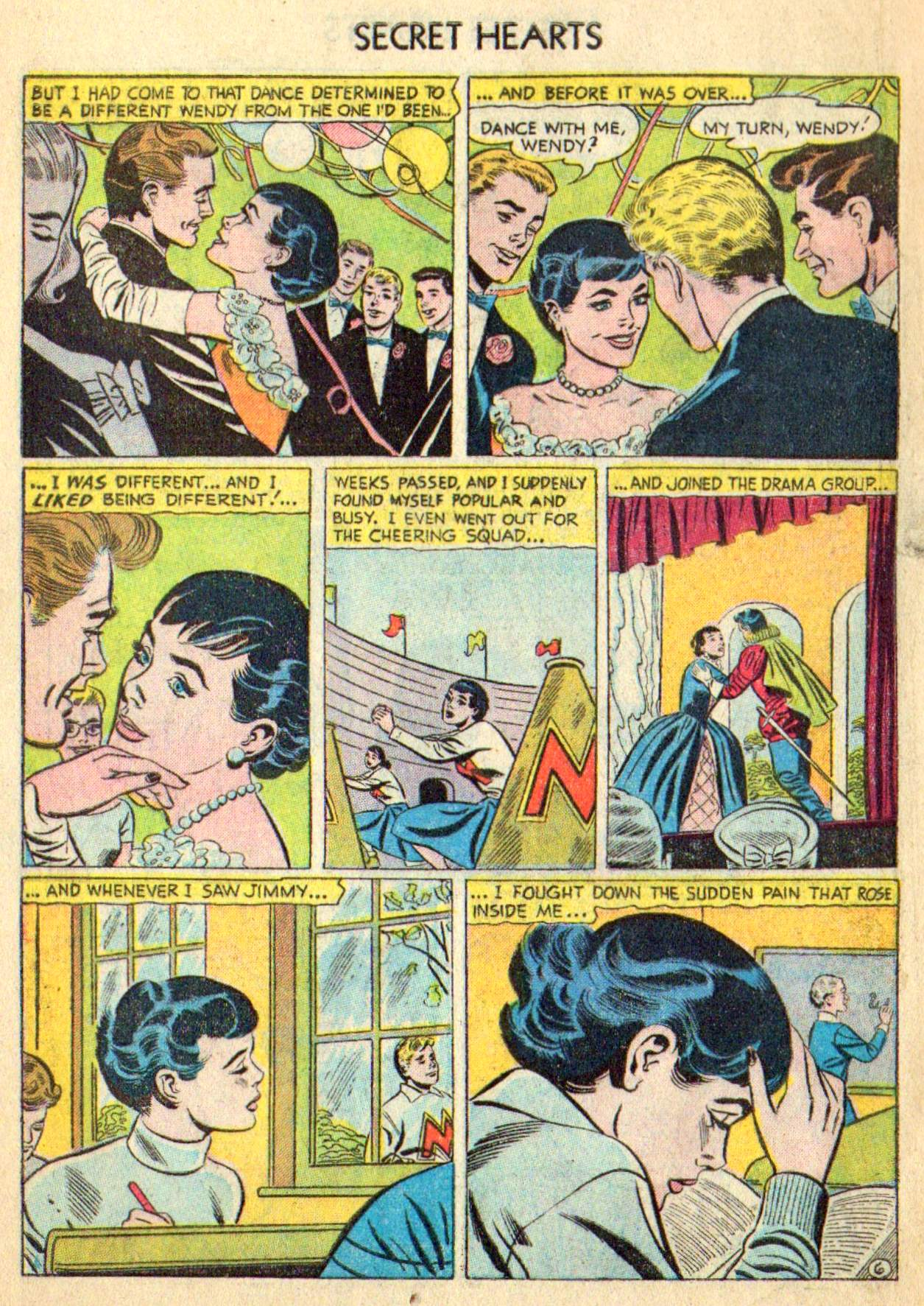 Read online Secret Hearts comic -  Issue #31 - 8